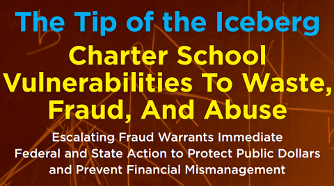The Tip of the Iceberg: Charter School Vulnerabilities to Waste, Fraud, and Abuse