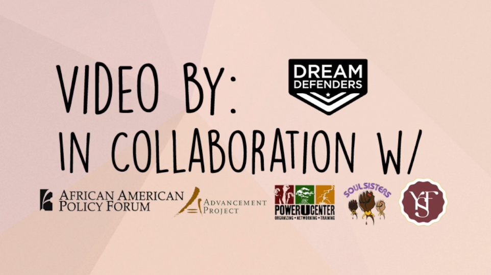 The Dream Defender's #BlackGirlsMatter Video