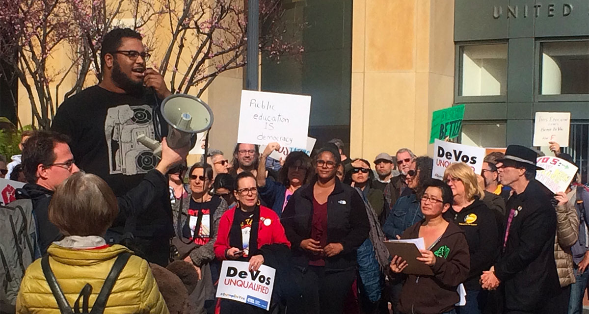 After Devos Vote Fight For Public >> After The Devos Vote The Fight For Public Education Continues