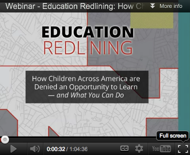 Education Redlining Webinar
