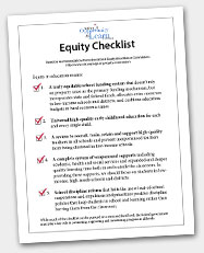 Equity Checklist