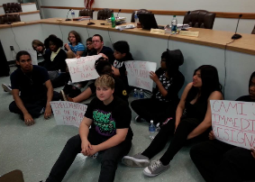Newark Students Occupy School Board