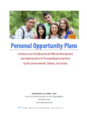 Personal Opportunity Plans