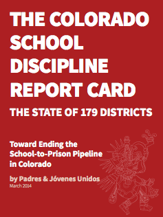 CO School Discipline Report Card