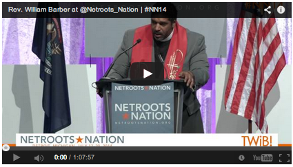 Rev. Barber's Netroots Speech