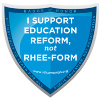 Support Education Reform, not Rhee-form